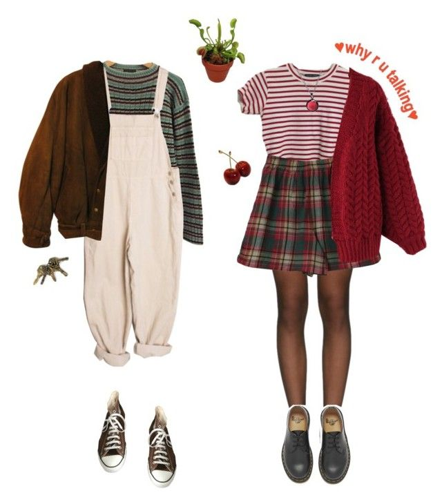 """kinda cozy"" by whoisgabrielg ❤ liked on Polyvore featuring Prada, Converse, Wolford, Zoot, Dr. Martens, Chicwish and Puck Wanderlust"