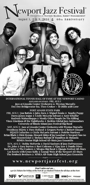 Snarky Puppy at the 2014 Newport Jazz Festival