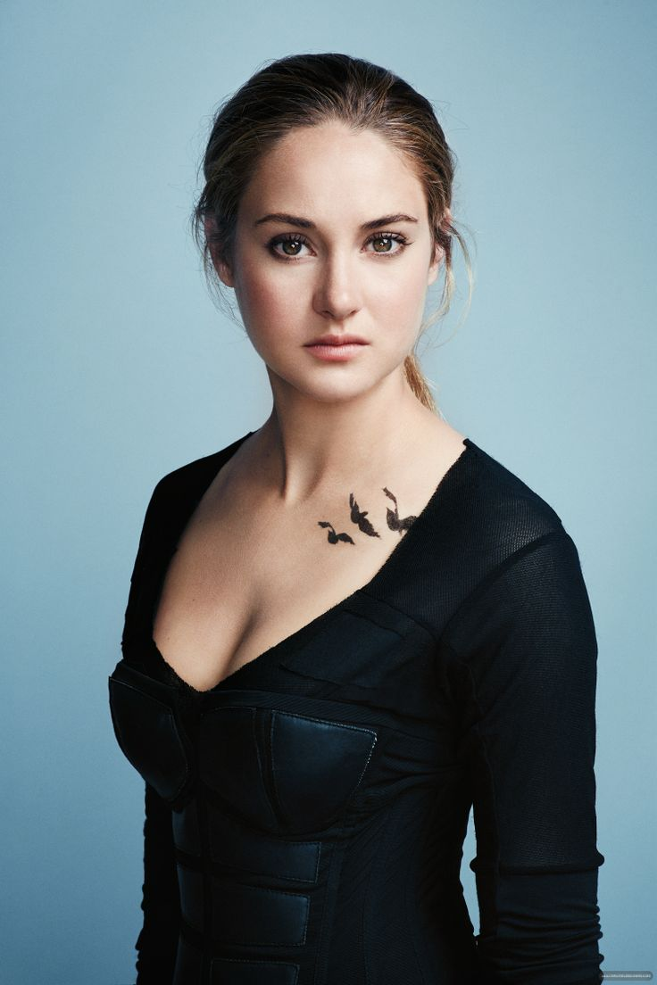 I think that Shailene is too pretty to play Tris