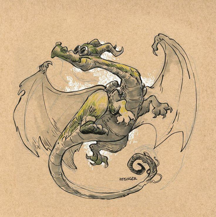 Рисунки драконов 25