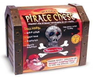 Melissa & Doug Coffre de pirate en bois Melissa & Doug 2576 000772125765