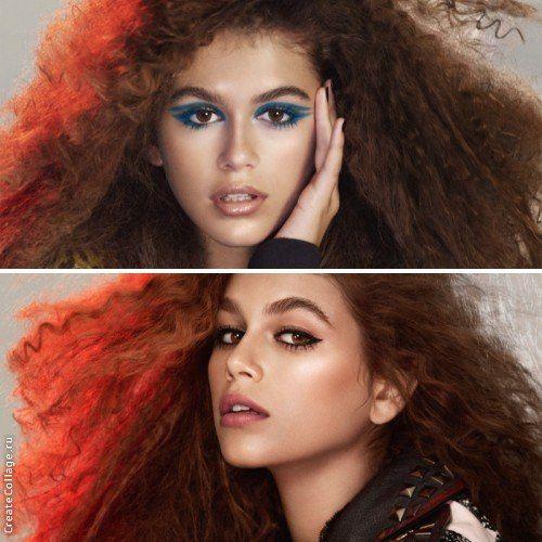 Еще в сентябре этого года Кайя Гербер, получившая звание «Модель года» на церемонии Fashion Media Awards, была назначена лицом Marc Jacobs Beauty. Спустя два месяца свет увидела рекламная кампания американского бренда с участием Гербер. Фотограф Дэвид Симс запечатлел 15-ти летнюю модель с эффектным макияжем и прической в стиле 1980-х. Визажист Диана Кендал делает акцент на глаза, используя синий и черный цвета, а также дополняет образы помадой естественных оттенков.