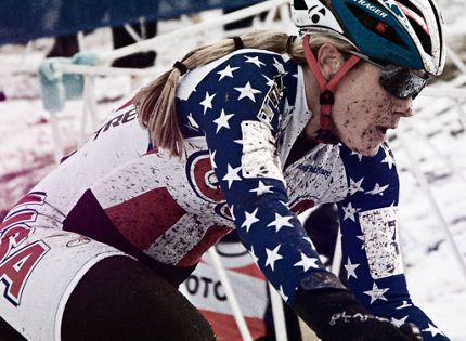 Katie Compton— just won her 10th national cx championship. What an incredible athlete. #greatridersrideTrek