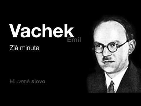 MLUVENÉ SLOVO - Vachek, Emil: Zlá minuta (DETEKTIVKA)