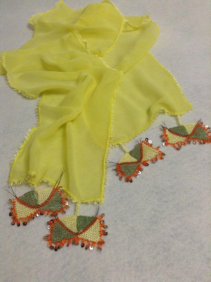handmade,Needle Lace,yellow