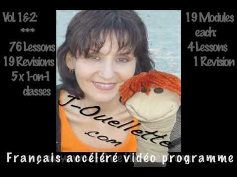 MAKE SURE YOU SUBSCRIBE!     In this video: A demo of the J'Ouellette® Super Fast program: http://j-ouellette.com/jouellette-french-video/    Takes too long?   Spent too much?   Feel embarrassed, frustrated and sick of feeling ignorant?    Want to be respected and admired for being fully bilingual?    Give me 2 weeks and I'll show you how.  Give me 2 month...