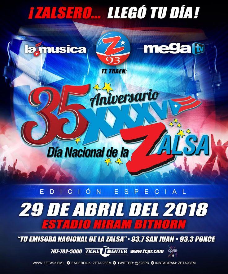 No te pierdas el evento más anticipado del año, el Día Nacional de La Zalsa! Consigue tus boletos hoy en Ticket Center https://tcpr.com/es-PR/shows/xxxv%20dia%20nacional%20de%20la%20zalsa,%20san%20juan/events?utm_content=bufferd02fc&utm_medium=social&utm_source=pinterest.com&utm_campaign=buffer
