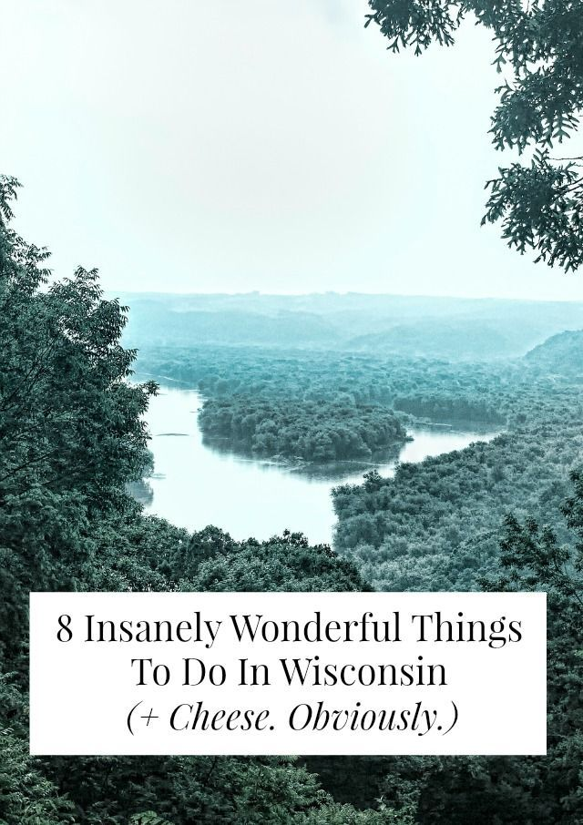Things to do in Wisconsin.
