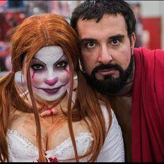 #chiara #it #crossplay #sthephenking #penny #pennywise #beard #boy #friendship #redhair #wig #makeup #style#cosplayboy #cosplayersitaliani #cosplaygirl #doll #sweet #friend #insta #instalike #like #likers #instadaily #igers #roman #costume #clown
