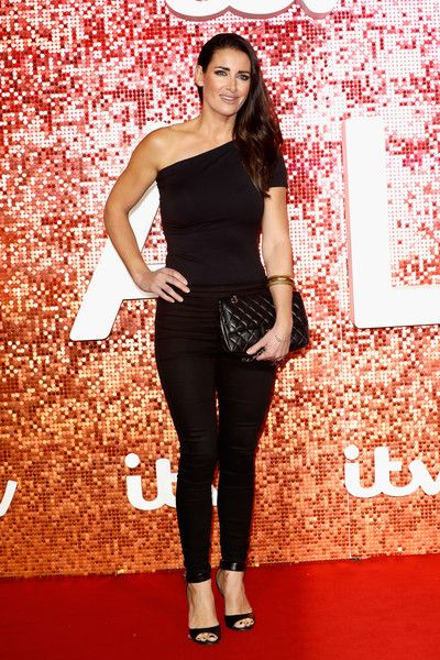 Kirsty Gallacher arriving at the ITV Gala held at the London Palladium on November 9, 2017 in London, England.