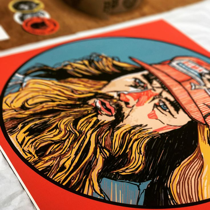 'Forrest Gump' artwork by Luke Dixon  #forrestgump #lukedixon #artwork #illustration