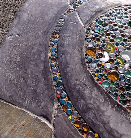 Pebble Mosaic More Pins Like This At FOSTERGINGER @ Pinterest