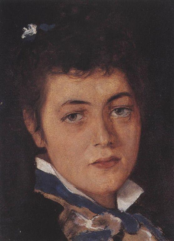 .:. Γύζης Νικόλαος – Gyzis Nikolaos [1842-1901] Προσωπογραφία νεαρής κόρης