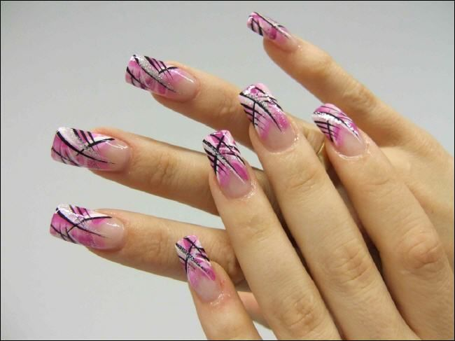 Nails Art: 694 Best Images About Funky Nail Art On Pinterest