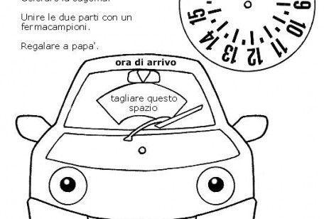 Disco orario per auto