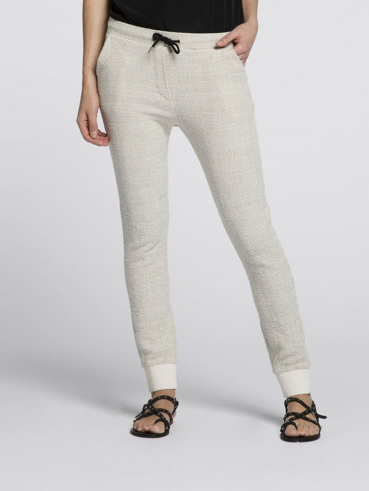 sweat chino jogger | Sweat / Jersey Pants | Woman Clothing at Scotch & Soda