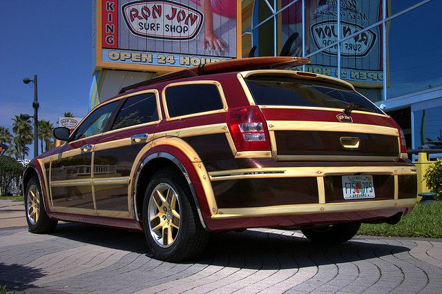 Dodge Magnum Woody. Haha..this is great.  My grandpa would love.