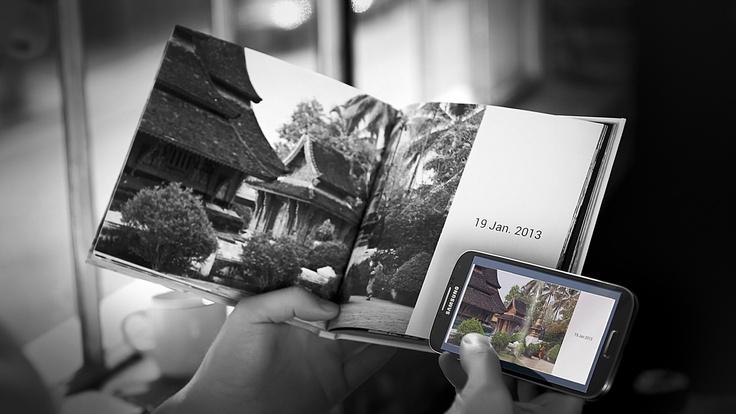 Con #GalaxyS4 gli album diventano ricordi da sfogliare e oggetti da desiderare! #Amazing #SamsungS4