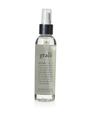 Philosophy Pure Grace Satin-Finish Body Oil Mist, 5.8 Ounce >>> You can get more details by clicking on the image. (This is an Amazon Affiliate link and I receive a commission for the sales)