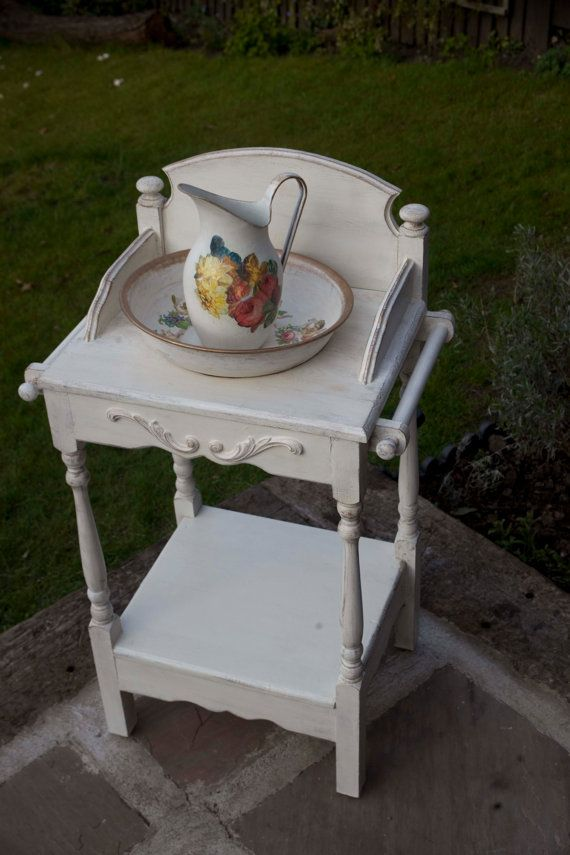 Shabby Chic Washstand by Shabby2FabChic on Etsy