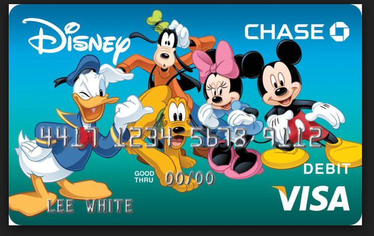 Chase disney credit card with images disney visa