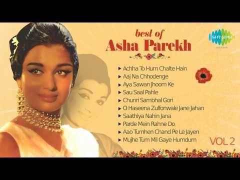 Best Of Asha Parekh - Old Hindi Songs - Bollywood Songs - Vol 2 - YouTube