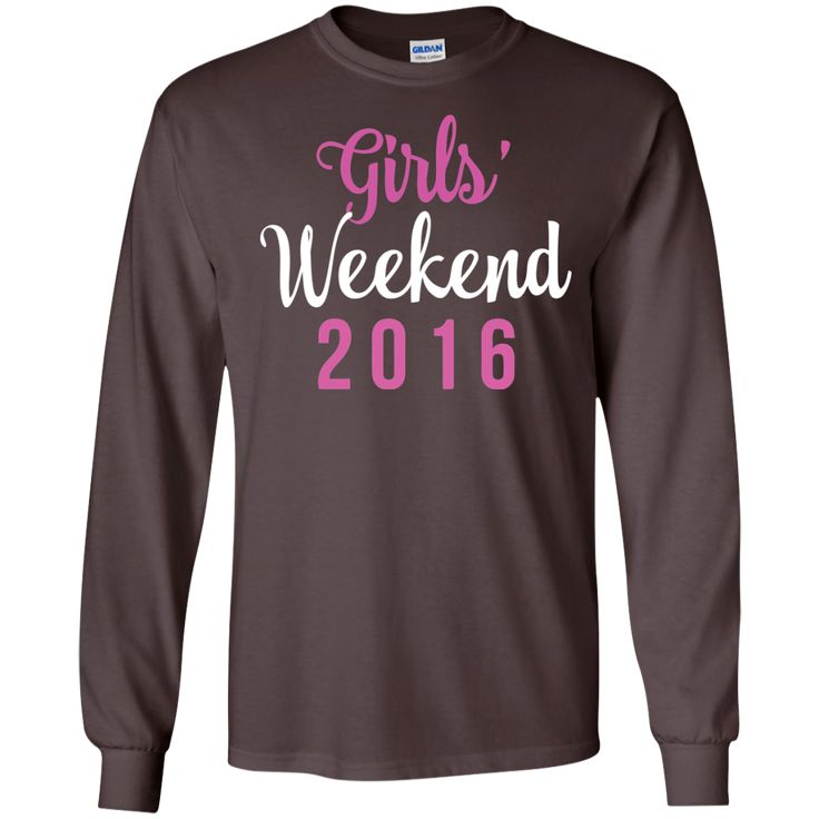 girls' weekend 2016-01 LS Ultra Cotton Tshirt