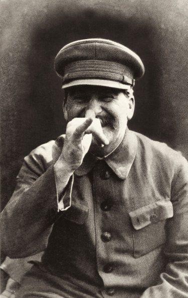 Stalin being a joker