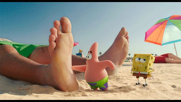 You have a weird urge to touch everything… | 14 Signs You're The Patrick Star Of Your Friend Group