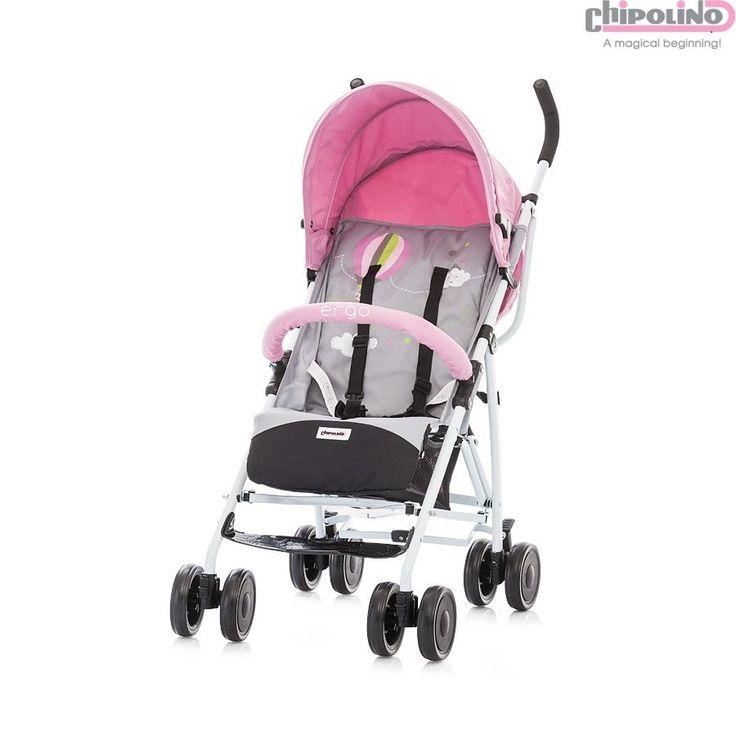 Chipolino Ergo Pink Bebek Arabası #bebek #alışveriş #indirim #trendylodi #bebekarabası #puset  #anne #baba