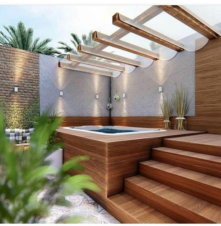 Hot Tub Wandbeleuchtung