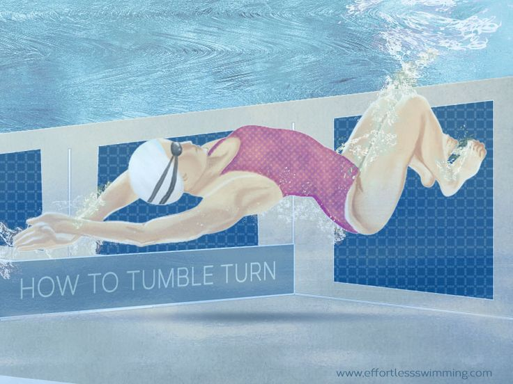 #Swimming tip: How to Tumble Turn