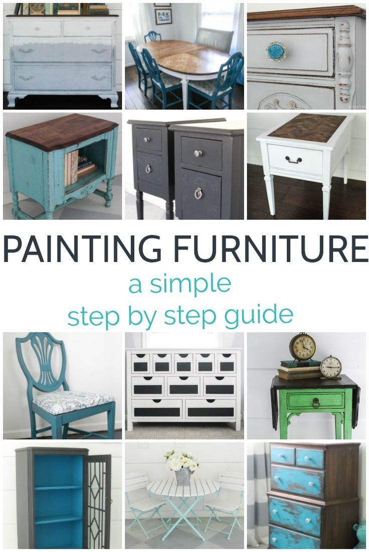 how to paint furniture for the perfect finish every time painted rh pinterest com