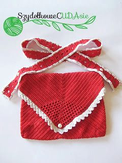 I hope that making this crochet red bag, I made real a dream of one little girl.