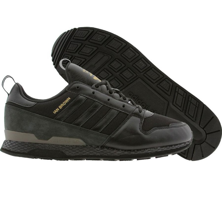 Adidas ObyO ZX Ian Brown KZK: Zx Ian, Brown Kzk, Ian Brown, Adidas Obyo, Kzk Black1, Obyo Zx, Shoes Adidas