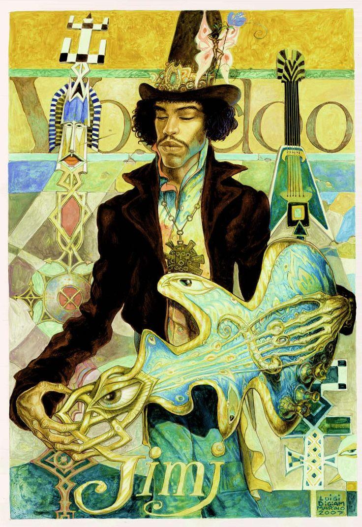 Voodoo Jimi by Luigi Di Giammarino