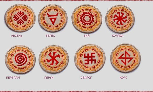 Symbols Slavic Gods and Goddesses