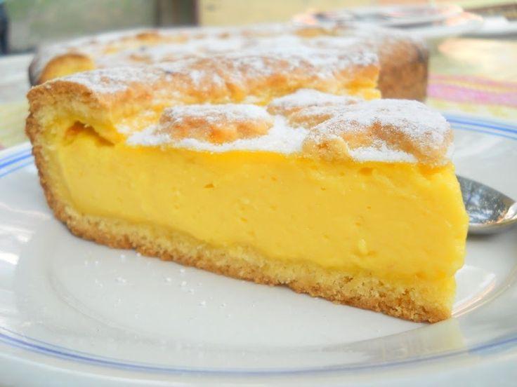 tarta cu crema pasticera