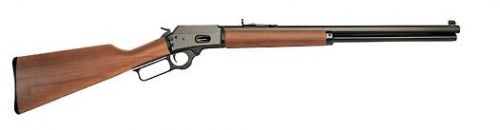 "New In Box Marlin Lever Action Rifle, 1894 Cowboy II, 357 Magnum, 24""bluedbarrel, Black Walnut Straight stockThis gun was created for use in the fast growing game of CowboyShooting. The Marlin 1"