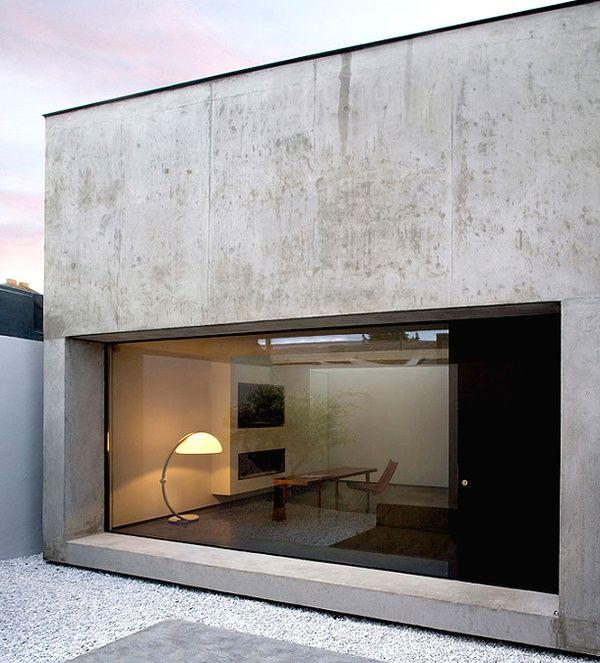 Uitbouw van beton. Yess please!!