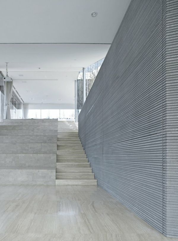 Inspiration: Spaces: Architecture Riverside Clubhouse - minimalist interior design