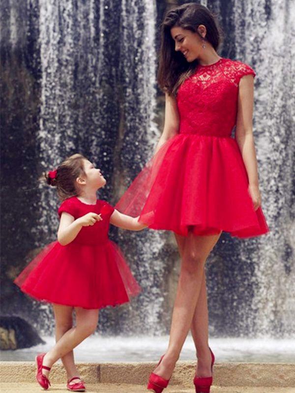 Rote kleider gr 48