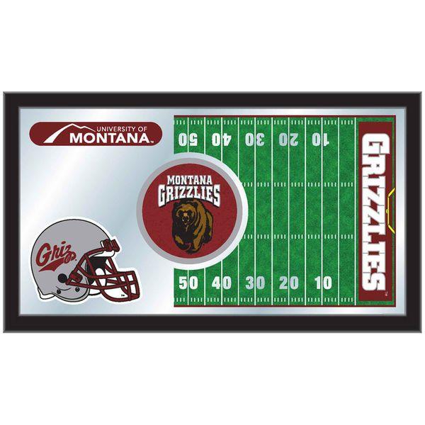 "Montana Grizzlies 15"" x 26"" Football Mirror - $64.99"