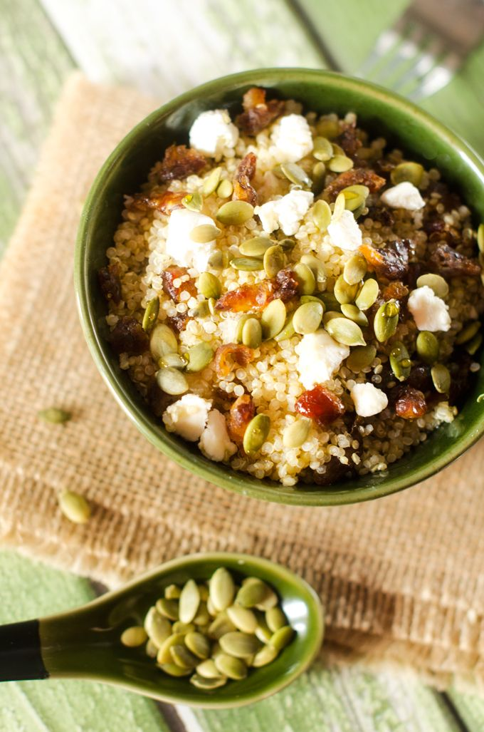 Even though I'm not the biggest fan of traditional breakfast food, I almost always wake up starving. In fact, I can skip dinner fairly easily…but breakfast, not a chance. One of my favorite ways to start the day is with a quinoa breakfast bowl. Many times this will consist of quinoa, beans, veggies, avocado and …