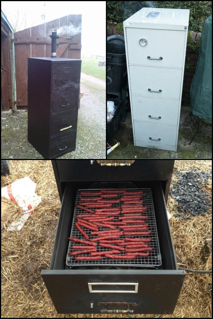 263 best images about smokers bbq on pinterest pit bbq for Outdoor grill cabinet plans