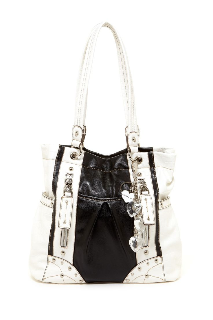 Kathy Van Zeeland Tic Tech Tote Bag By Black White Handbags On