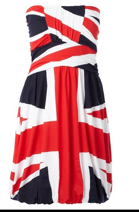 """""""Union jack dress"""" more like a one direction dress"""