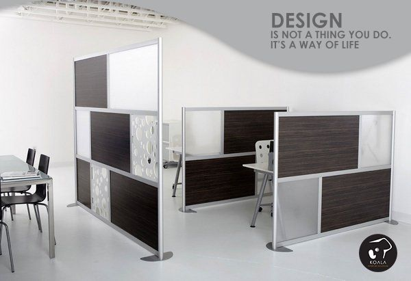 Modern office partitions are available in a wide range of shapes and sizes with modern and stylish look and there are several basic types which can help to divide the work space. Desktop screens are widely used as they mark the individual working space, as well as has functional aspects such as being able to pin important document.