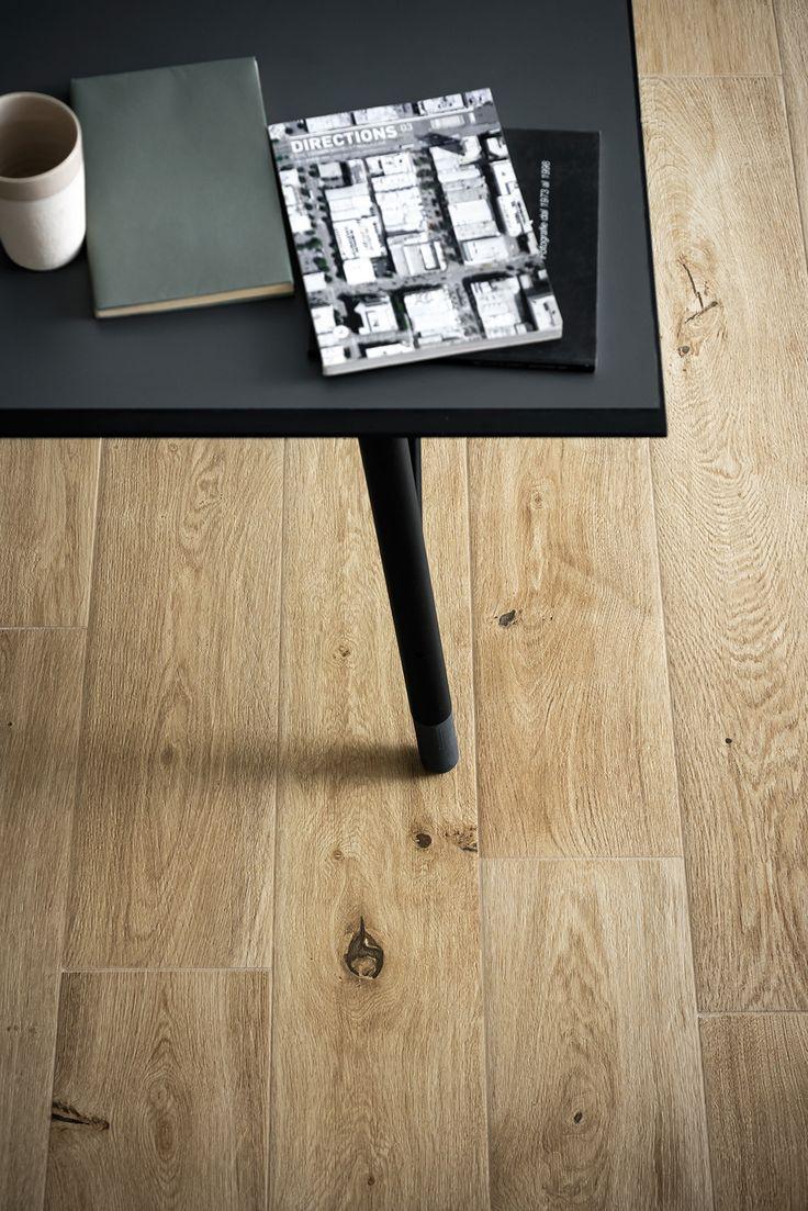 Gres porcelánico de efecto madera y parqué  - Marazzi 5805