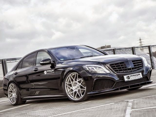 Mercedes Benz S Class Work Prior Design, Full With Crocodile Leather